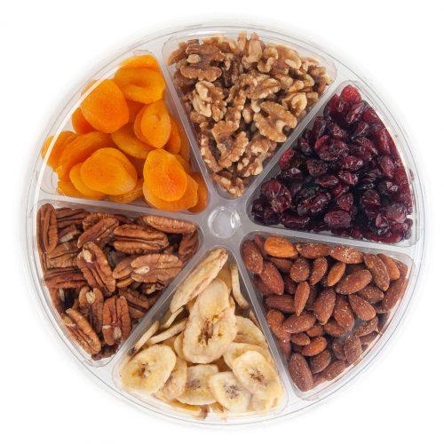 fruit and nuts in easypak food packaging
