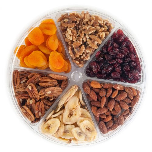 fruit and nuts in easypak food packaging