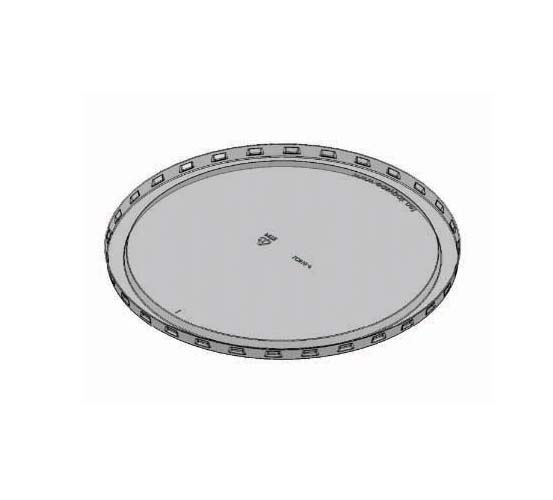 round plastic lid small